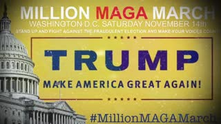 Million Maga March! Saturday November 14! Can we count on your support? We need you!