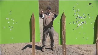 MythBusters: Two Guns, Two Targets