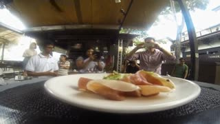 Could drones replace waiters? - Video