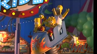 """Springfield comes to life at """"The Simpsons"""" amusement park"""
