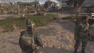 Call of Duty WWII Glitch while Sitting