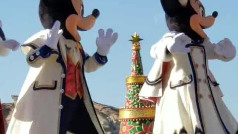 Special Surprise From Admiral Minnie And Micky Mouse