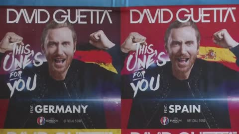 DJ David Guetta talks about EURO 2016 anthem