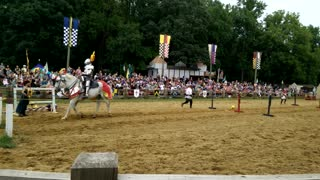 Real Life Jousting - Video