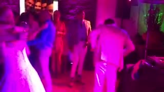 Funky wedding dancers - Video