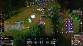 Miss Fortune pentakill, my 1st - Video