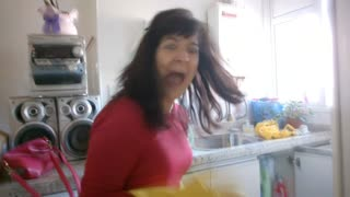 Son Makes Compilation Of Scaring Mom - Video
