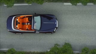 Rolls-Royce unveils new convertible - Video