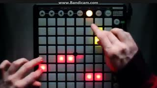 Nev Plays Skrillex First Of The Year Equinox Launchpad - Video
