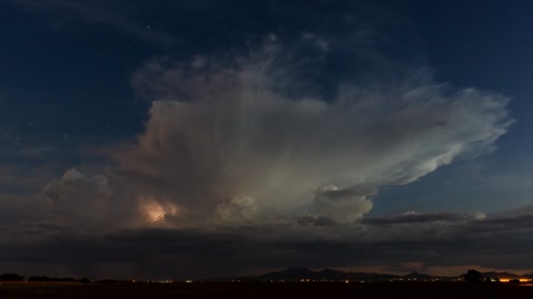 Stunning time lapse: Arizona monsoon storms