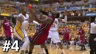 top 10 LeBron James Flops - Video