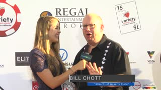 Variety 6th Annual Poker Tournament at Paramount Studios - Video