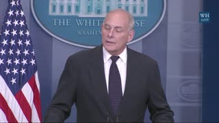 General Kelly: I Was Stunned, Brokenhearted What Member of Congress Did To President Trump's Message - Video