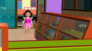 Pat a cake - 3D Animation - English Nursery rhymes - 3d Rhymes - Kids Rhymes - Rhymes for childrens - Video