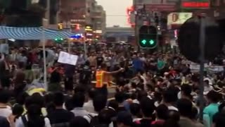 Occupy Mong Kok in Hong Kong - Video