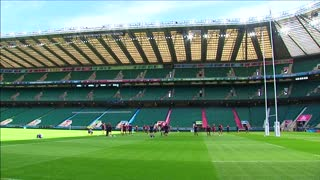 World rugby plays catch-up with football - Video