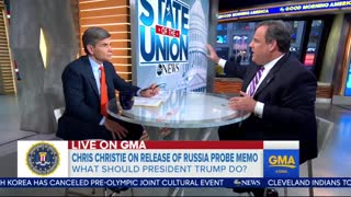 Christie: Mueller Shouldn't Be Trifled With; No Credible Allegations Against Trump - Video