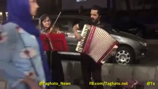 Music and the street: street performances in Tehran - Video