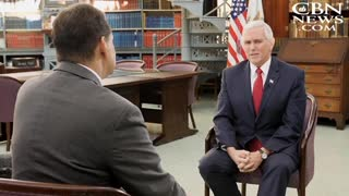 Mike Pence Reveals the Four 'Sweetest Words' He and President Trump Hear From People - Video
