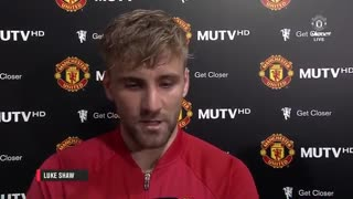 VIDEO: Luke Shaw Pokes Fun Of Paul Pogba's First Touch - Video