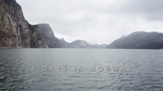 Timelapse: 5 Days in Norway