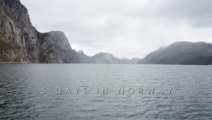 Timelapse: 5 Days in Norway - Video