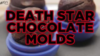 How To Make Death Star Chocolate Molds - Full Recipe - Video