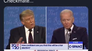Biden gets handed a Trump smack down!