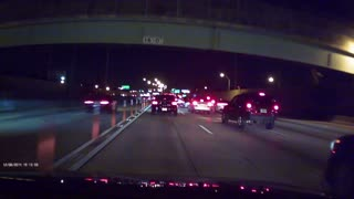 Car Crash - Why You Shouldn't Pull Into The Express Lane - Video