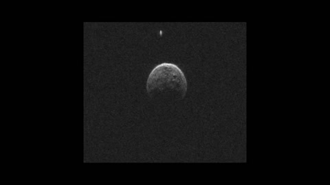 Asteroid's moon spotted during Earth flyby