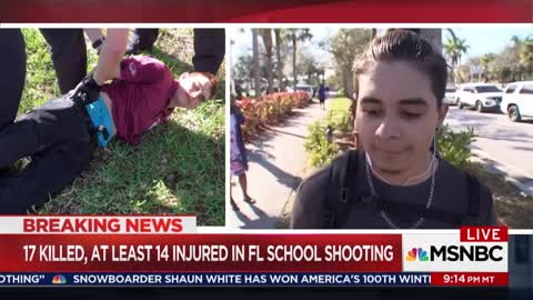 Florida Shooting Survivor Says Media Is Exploiting Shooting to Push an Agenda