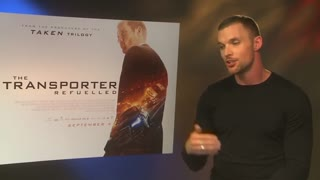 British actor Ed Skrein takes over Jason Statham's 'Transporter' duties - Video