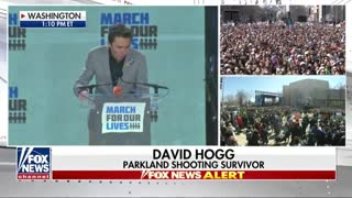 'Get Your Resume Ready': David Hogg Goes After NRA-Supported Politicians at 'March for Our Lives' - Video