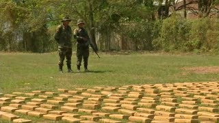 More than one tonne of marijuana seized in Bolivia - Video