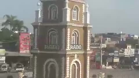 Clock Tower of Sialkot in Day Light
