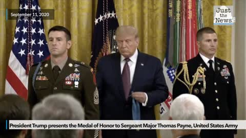 Army sergeant major receives Medal of Honor for 'heroic, daring' rescue mission in Iraq