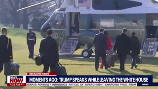 """PRESIDENT TRUMP SPEAKS FOR THE FIRST TIME SINCE """"THE EVENT"""""""