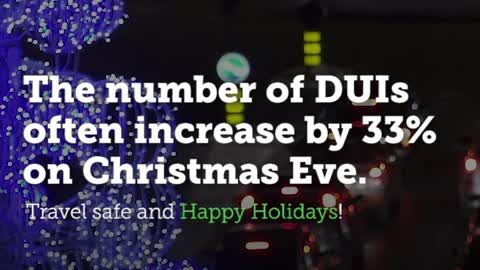 Christmas Eve DUI Number Is a Sobering Statistic