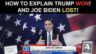 How Trump WON and Biden Lost... Real Simple...