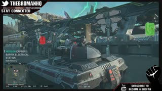 Epic Battle PlanetSide 2 PS4 Closed Beta Gameplay 6000 Online Players - Video