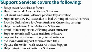 Avast Antivirus Support Phone Number +44-800-046-5292 - Video
