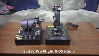Saitek Pro Flight X-55 Rhino review: Ready for VR - Video