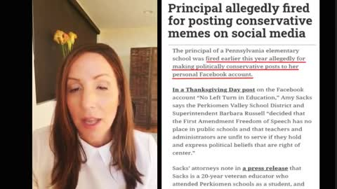 Principal fired for posting conservative memes?