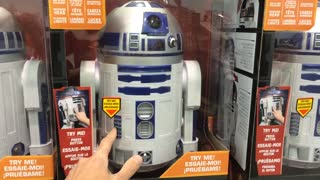 R2D2 Star Wars robot - Video