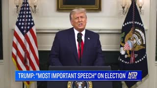 Trump: Most Important Speech He's Made!