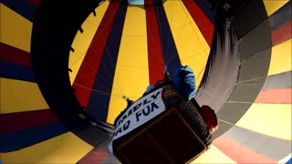 Balloon festival in Montague, California  - Video