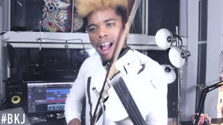 Freestyle violin cover of 'Panda' by Desiigner - Video