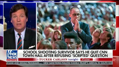 Carlson Says CNN 'Questioning the Integrity' of Parkland Survivor Over 'Scripted' Questions