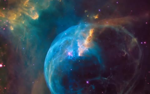 Hubble Telescope spots star