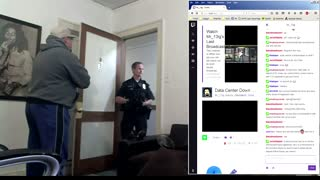 Gamer Gets Arrested and Burglarized on Livestream - Video